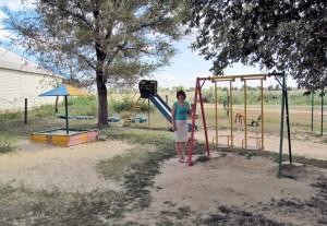 Детская площадка в «шаговой доступности» -  заслуга администрации и ТОСа
